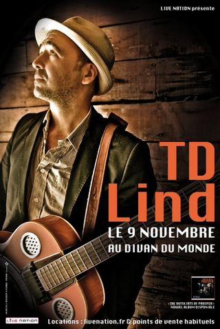 TD LIND - Divan du Monde, Nov. 9th (20x30)